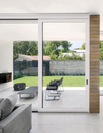 custom multi slide door overlooking outdoor patio