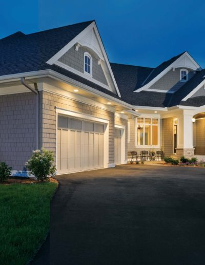 exterior of home with custom materials