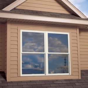 exterior of home window