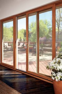 wooden sliding doors